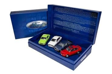 CORGI RS00001 1:43 O SCALE Ford Escort RS Collection, Four Decades of Success
